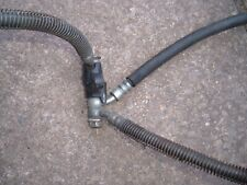 Suzuki GSX1100ET GSX1100 ET Front brake hoses and splitter. Brake lines.