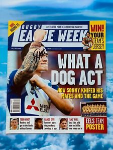 Rugby League Week July 30, 2008 - What A Dog Act Sonny - Eels Poster Included