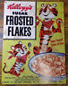 Kellogg's Sugar Frosted Flakes Tony the Tiger Heavy Duty Metal Advertising Sign