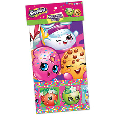 SHOPKINS PLASTIC TABLECOVER ~ Birthday Party Supplies Table Cover Cloth Decor