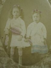 CIVIL WAR ERA JACKSON TN McCLINTOCK CONGER ANGEL GIRLS SISTER SOUTHERN CDV PHOTO
