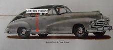 NOS PONTIAC 1942 1946 1947 1948 STREAMLINER ROCKER PANEL MOLDING RH  11/20