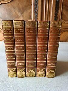 SÉLECTION DU LIVRE - READER'S DIGEST - 19 Romans - 5 Livres
