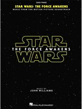 Star Wars Episode VII The Force Awakens Learn to Play Easy Piano MUSIC BOOK