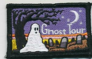 Girl Boy Cub GHOST TOUR WALK Fun Patches Crests Badges SCOUTS GUIDE Visit Day