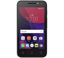 """NUOVO ALCATEL PIXI 3 - 4.5"""" Nero Smartphone Senza Sim 4g-Android 4.4"""