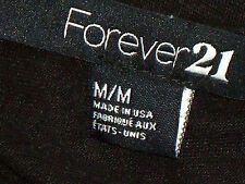 FOREVER21,US BlackSeethruDiamondFrontStretch SizeMM
