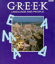 Greek Language and People-ExLibrary