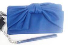 Liu Jo Pochette Tracolla Eco Pelle Monaco Fantasia Fiocco Rilievo Blue Fashion