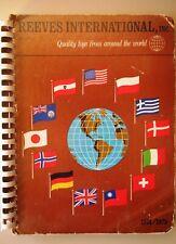 MÄRKLIN HO 1974 USA REEVES Händler Katalog Steiff Britains Corgi Marklin & mehr
