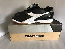 Boy's Shoes Size 6 USA ~ Diadora Forza ID JR. ~ Black/White/Silver