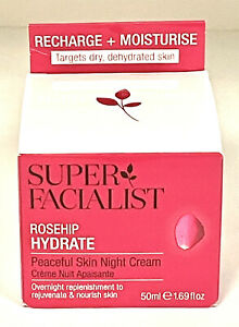 Super Facialist Rose Hydrate Peaceful Night Cream 50ml