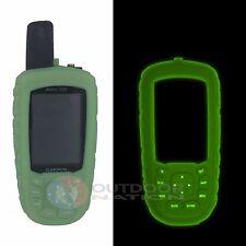 Garmin Astro 320 Orange and Green Protective Glow in the Dark Gel Silicon Cover