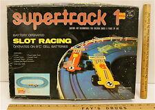 Super Track 1 Slot Racing PlayArt Battery Powered Plug & Socket 2 Cars 12 Track
