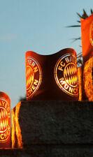 FC Bayern München FCB Windlicht Edelrost Metall Fanartikel Fußball Feuerkorb