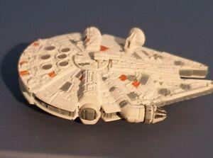 Star Wars 8 cm Long Die Cast Millennium Falcon Model without stand, 1996