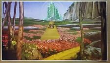 """The Wizard Of Oz GIANT WIDE 42"""" x 24"""" Emerald City Movie Poster Dorothy Tin Man"""