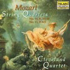 Cleveland Quartet - Mozart String Quartets Nos 14 and 15 [CD]