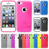 Housse Etui Coque Silicone Motif S-line Gel Souple Apple iPhone 5C +Film Stylet