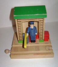 Wooden Thomas the Train SODOR CONDUCTOR SHED RAILWAY WOOD RETIRED RARE