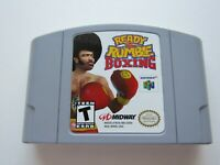 Ready 2 Rumble Boxing Nintendo 64 N64 OEM Authentic Video Game Cart Retro GREAT!