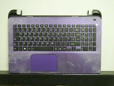 PURPLE Toshiba Satellite L50-B L50D-B-14p Palmrest Cover UK Keyboard A000301410