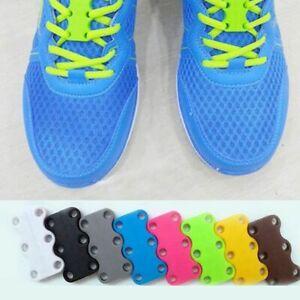 Magnetic Shoelaces Zubits Buckle No-Tie Laces Shoes Lazy Lace Lace Closure New