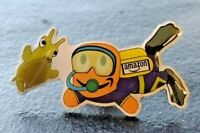"NEW Amazon Employee Swag ""Scuba diver"" PECCY PIN Summer Time Beach"