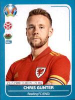 EM 2020 Preview - Sticker WAL10 - Chris Gunter - Wales
