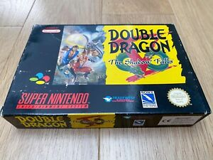 TBE - SUPER DOUBLE DRAGON V SNES SUPER NINTENDO (EUR) - Complet