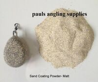 Smooth Coat Matt  Camo Sand Silt  Lead Jig head Mould Coating Powder Mix
