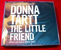 Donna Tartt Reads The Little Friend 5-CD Audio Book NEW SEALED Mystery/Thriller