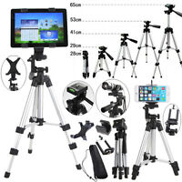Camera Tripod Stand Holder Mount for Phone iPhone Samsung Tablet Canon Sony DSLR
