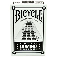 1 Deck Bicycle Double 9 Nine Domino Playing Cards New Box