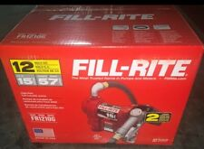 New listing Fillrite Fr1210H 12V Dc 15Gpm Fuel Transfer Pump with Manual Nozzle