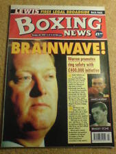 October Boxing News Magazines