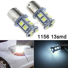 2X 5050 Pure WHITE 13SMD LED BULB 1156 1141 1003 RV TRAILER INTERIOR LIGHT 12V