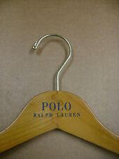 """POLO RALPH LAUREN  RETAIL 16"""" DRESS / SHIRT LT. WOOD HANGERS SET 40"""
