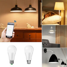Wifi Smart LED light Bulb 15W(60W) B22 E27 RGBW Dimmable for Alexa/Google Home