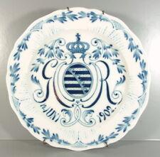 Meissen - Sächsischer Wappenteller aus Meissner Porzellan - 19.Juni 1902