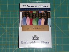 DMC 2002 COLLECTION Embroidery Floss - 27 skeins - 8.7 yards each - 117F25NP27