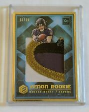 2018 Panini Elements Gold Framed Xenon Rookie HAYDEN HURST /50 PATCH LN