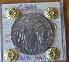 MONETA CITTA' DEL VATICANO 2 LIRE PIO XII 1941 sigillata FDC SUBALPINA