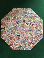 Vintage 1973 Springbok Octagon POSTAGE PAID Jigsaw Puzzle Stamps COMPLETE
