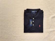 Original Ralph Lauren Polo Slim Fit Navy Blue Unisex Shirt With Tags