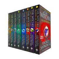 Andrzej Sapkowski Witcher Series 8 Books Collection Set Season of Storms NEW