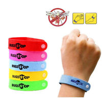 Anti Mosquito Insect Repellent Bracelets 10 Pack Bug Stop Mozzie