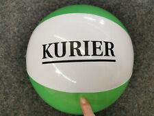 Kurier Ball Wasserball grün weiß 37 cm
