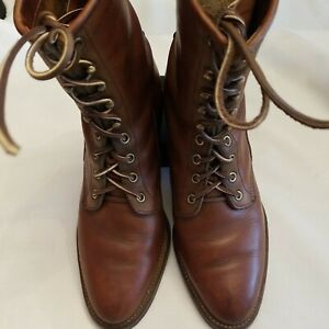 CHIPPEWA VINTAGE MEN'S PACKER/ LOGGER BOOTS 8.5 / WOMEN'S 10. MADE IN  USA.