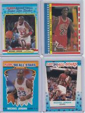 MICHAEL JORDAN 1987 FLEER Sticker #2 1988-89 Sticker 89-90 Sticker + 1990 A.S.